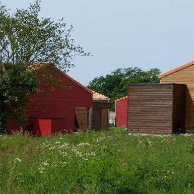 Village retraite de Chauvé - vue arrière
