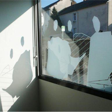Décoration sur les vitres