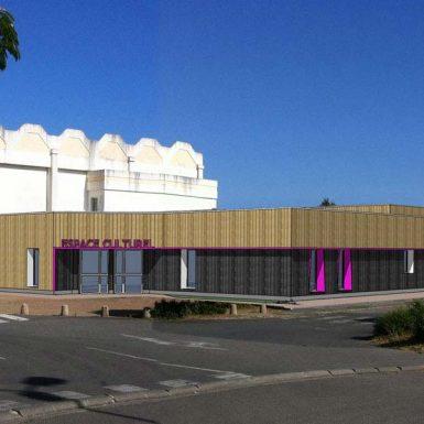 Projet du nouvel espace culturel
