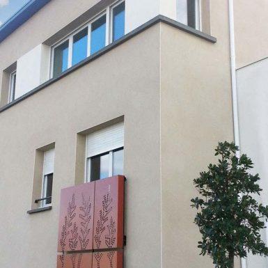 La Marzille - Détail façade ouest