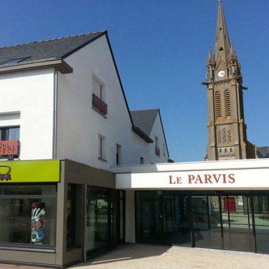 Ilot Le Parvis - Vue du clocher