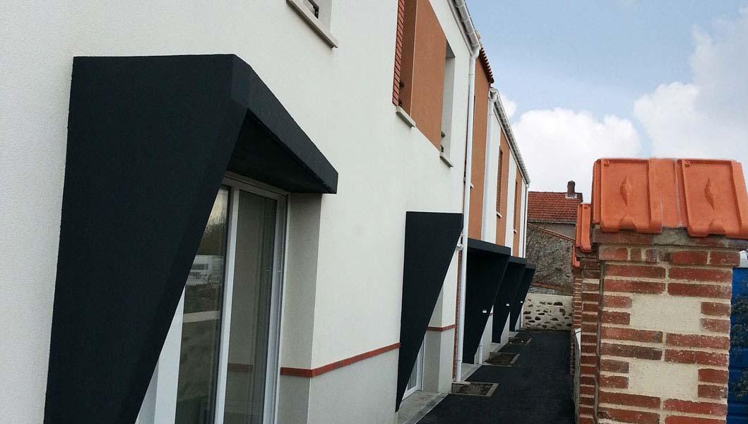 Porches des maisons individuelles Le patronnage